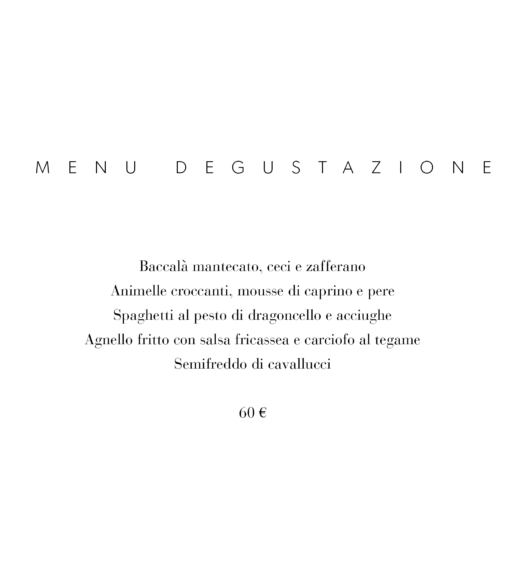 Ristorante Mugolone Siena Menu